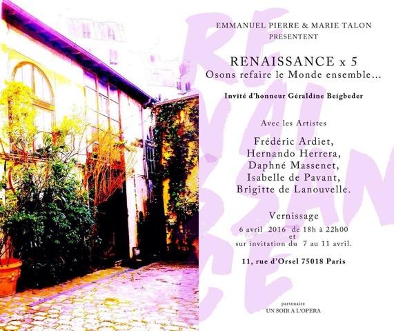 VERNISSAGE RENAISSANCE X5